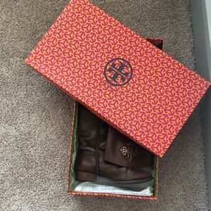 Tory Burch Shoes - tory burch kieran riding boots